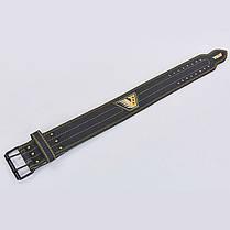 Пояс для пауэрлифтинга кожаный VELO VL-8184 , фото 3