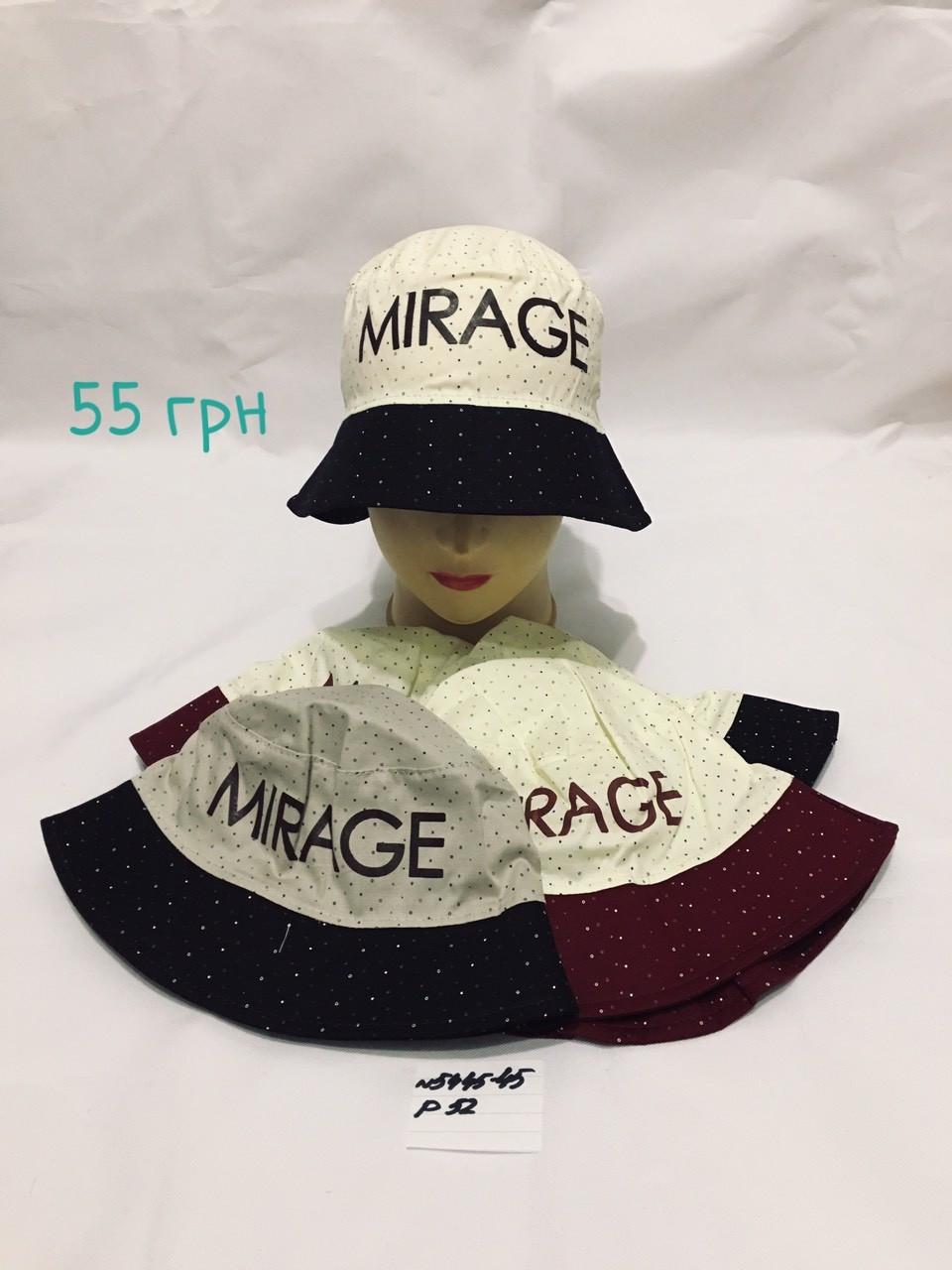 Панамка для мальчика Mirage,р.52,коттон