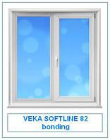 Veka Softline 82 bonding окна и двери металлопластиковые