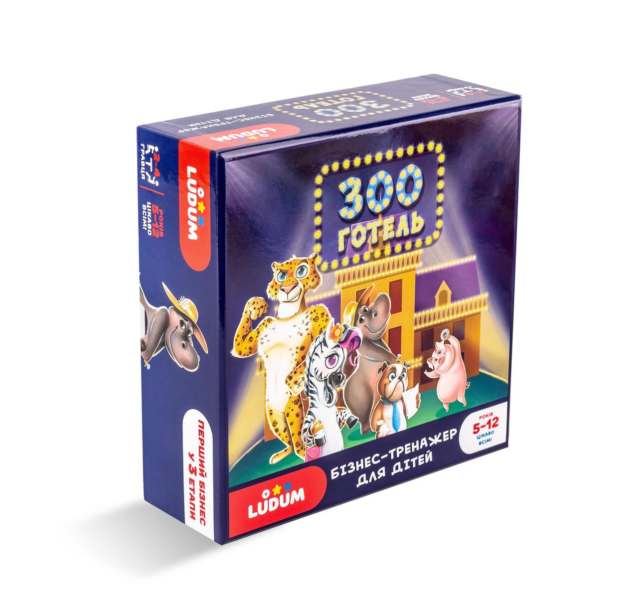 Настільна гра Ludum Зооготель (LG2046-56)