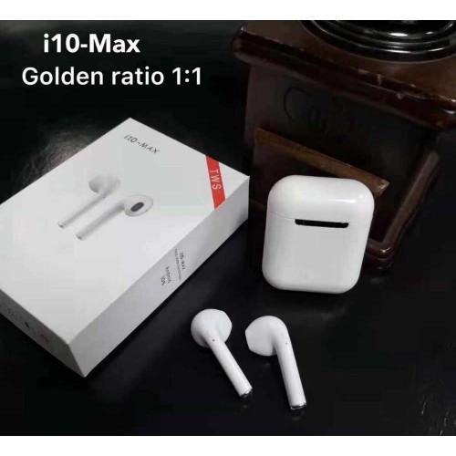Беспроводные BLUETOOTH наушники I10 Max AirPods IOS+Android Retail box