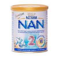НАН 2 молочная смесь, 800 г, nan premium nestle нестле