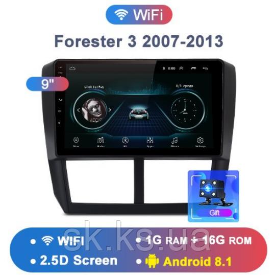 Junsun 4G Android магнитола для Subaru Forester 3 2007-2013 wifi