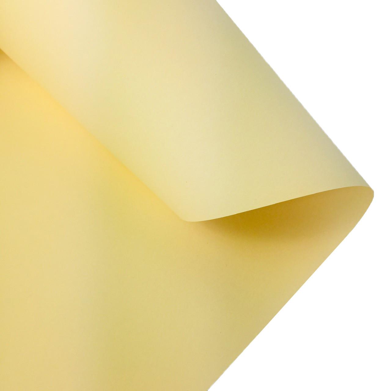 Дизайнерська кольорова (двостороння) папір Folia 50 х 70 см, молочна