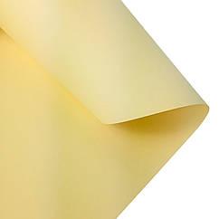 Дизайнерская цветная (двухсторонняя) бумага Folia 50 х 70 см, молочная