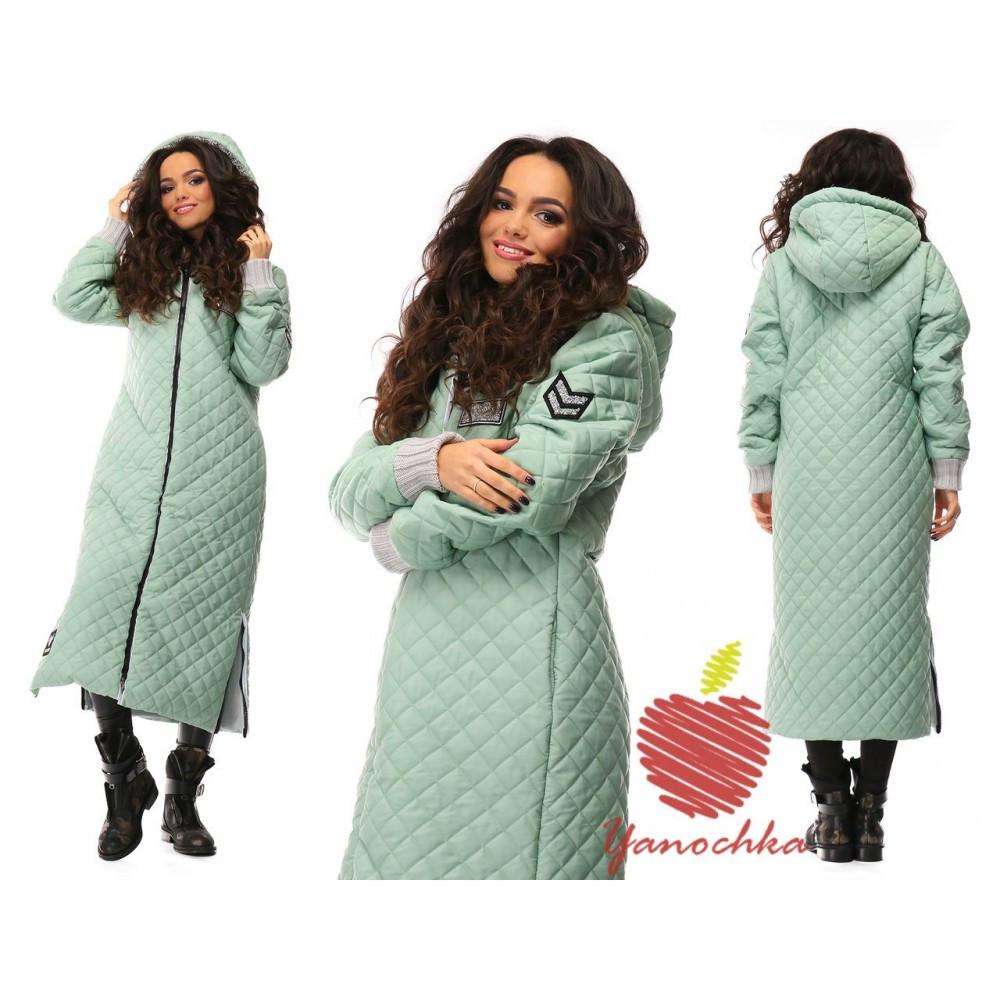 febc40db95e Пальто женское стеганое 566