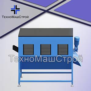 Охлаждение пеллет. Барабан-калибратор охладитель гранул БКО-100.