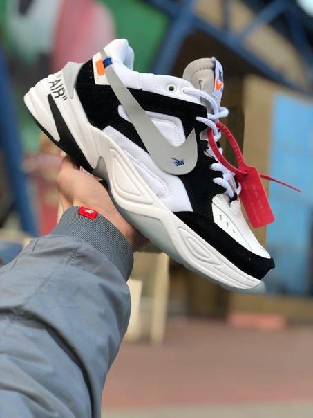 cdfe23da Купить Кроссовки мужские OFF-WHITE x Nike M2K Tekno реплика в Киеве ...