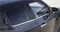 Хромированныемолдинги на стекла для Nissan Juke, Ниссан жук