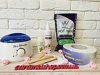 Стартовый набор для депиляции горячим воском Konsung 500 г Silk&Soft № 4, фото 1