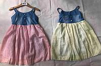 Платья для девочек, котон, Венгрия, F&D, рр. 4-6-8-10-12 лет., арт.9722,