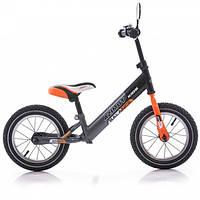 "Беговел Azimut Balance Bike Air 12"" Графит-оранжевый"