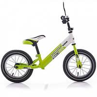 "Беговел Azimut Balance Bike Air 12"" Салатово-белый"
