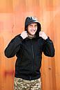 Куртка SOFT SHELL Military Черная , фото 2