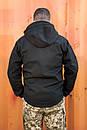Куртка SOFT SHELL Military Черная , фото 3