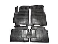 Полиуретановые коврики в салон Chevrolet Aveo (Шевролет Авео) с 2002-2011