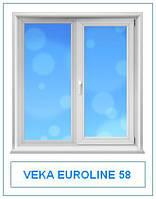 Veka Euroline 58 окна и двери металлопластиковые