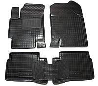 Полиуретановые коврики в салон Hyundai Accent с 2006-2010