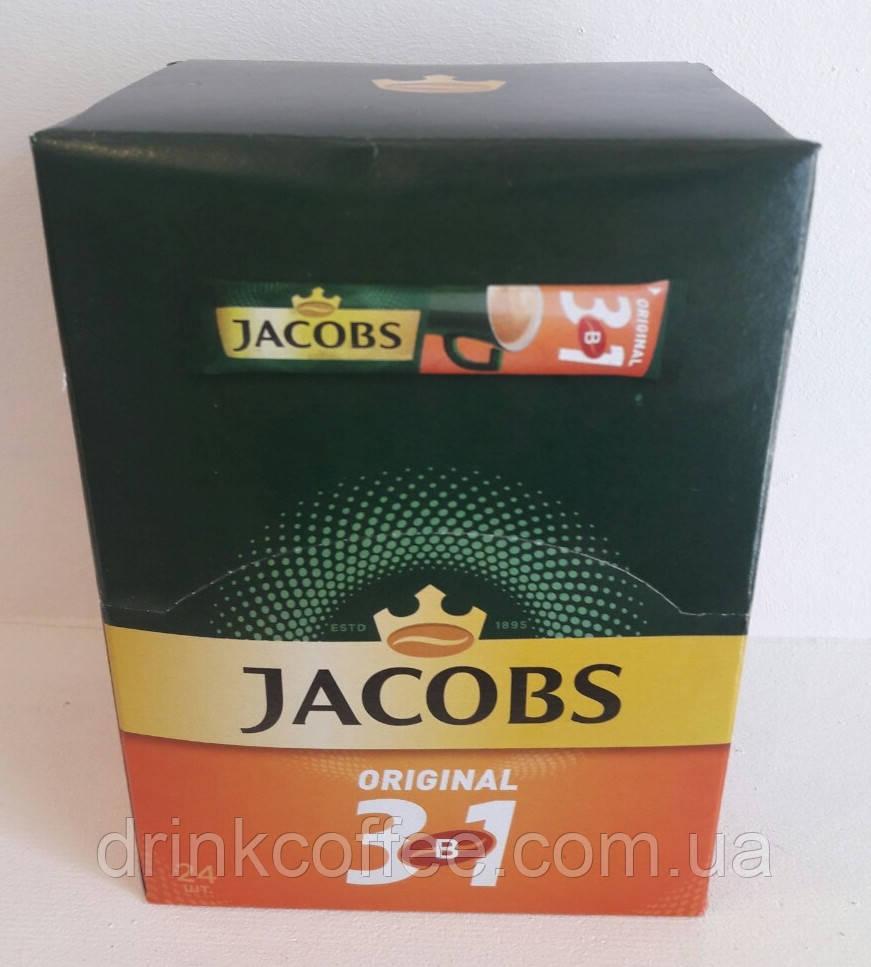 Кофе Jacobs, растворимый 3in1 Original, 12g