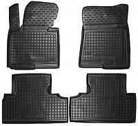 Полиуретановые коврики в салон Kia Carens с 2013-