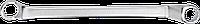 Ключ накидной изогнутый, 6 x 7 мм 09-906 Neo