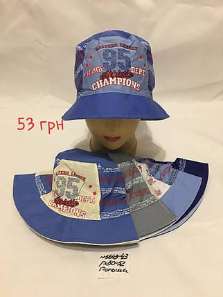 Панамка для мальчика Champions,р.50-52,коттон, фото 2