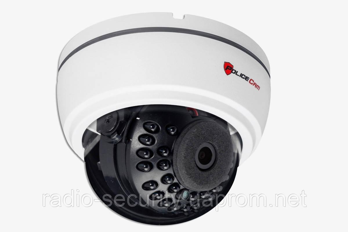Внутренняя купольная AHD видеокамера PoliceCam PC-350 AHD