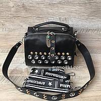 Женская небольшая кожаная сумка шкіряна жіноча, фото 1