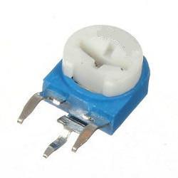 Резистор подстроечный R-063 104(100kR) (вертикальный)