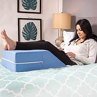 Подушка для ног DMI из ортопедической пены, для улучшения кровообращения, уменьшения боли в спине и т.д