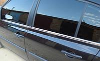 Хромированныемолдинги на стекла для Renault Megane 2 2002-2008, Рено Меган