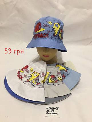 Панамка для мальчика BadBack,р.50,коттон, фото 2