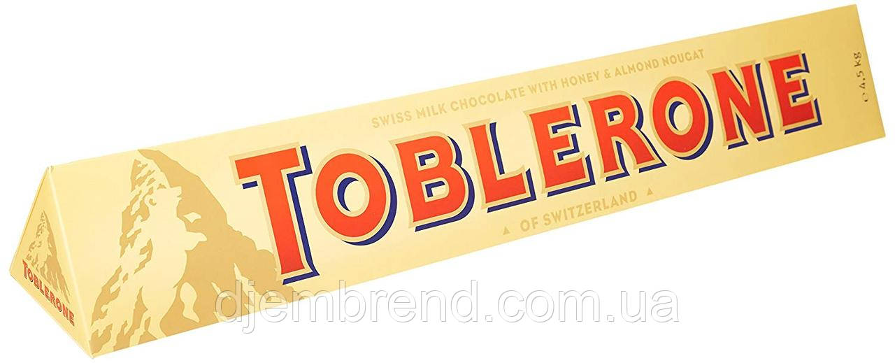 Шоколад Toblerone молочный (Toblerone Milk Chocolate), 100г