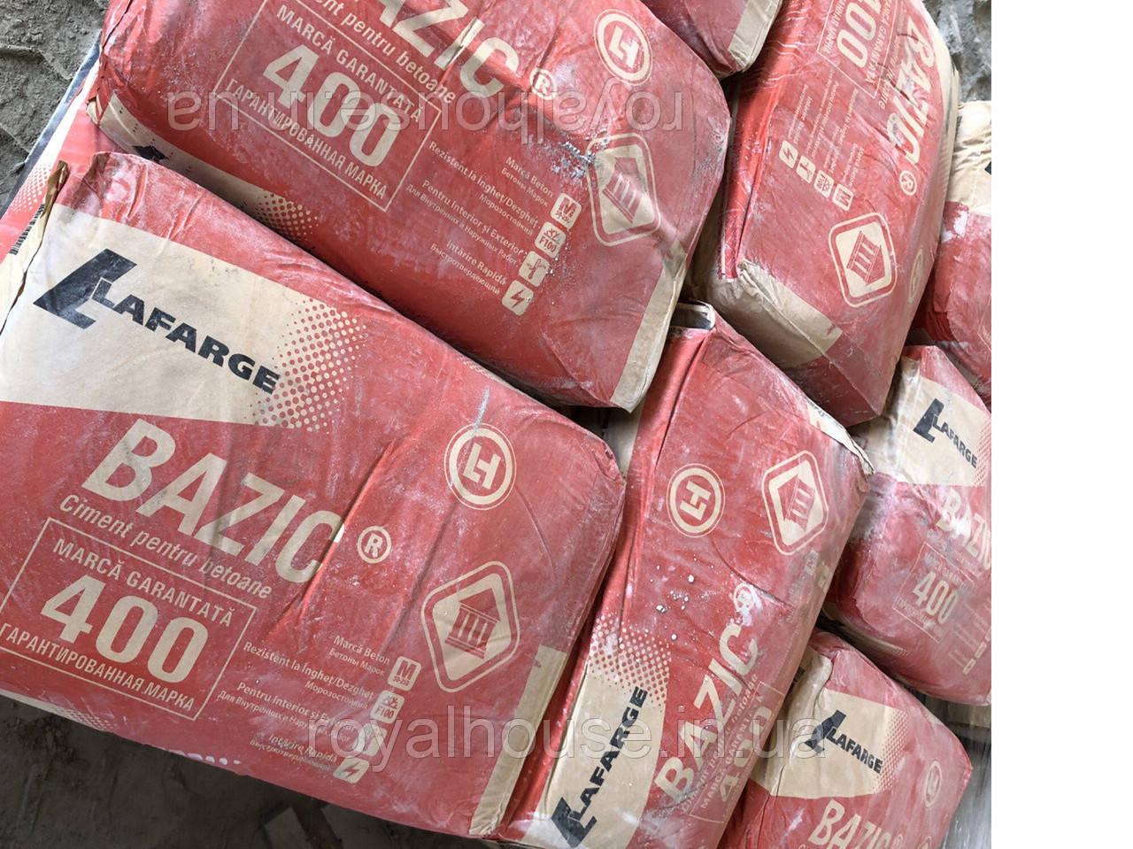 Цемент серый ПЦ||/Б-Ш-400  25 кг.