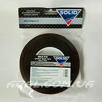 SOLID MAX FIX Скотч двухсторонний черный, 9мм х 10м, фото 1