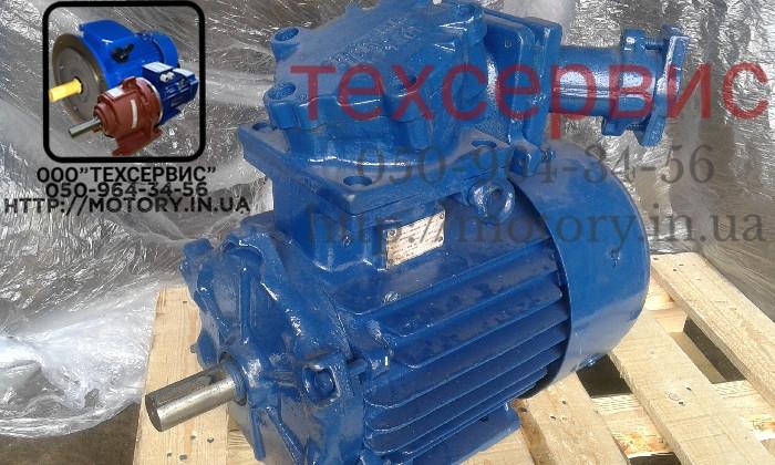 Электродвигатель взрывозащищенный АИММ160S4 15 кВт 1500 об/мин