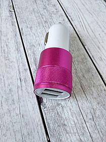 АЗУ-USB 2x универс. YZS-2 2000 mAh pink/white (пакет)
