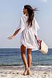 Короткая пляжная туника свободного кроя, фото 3