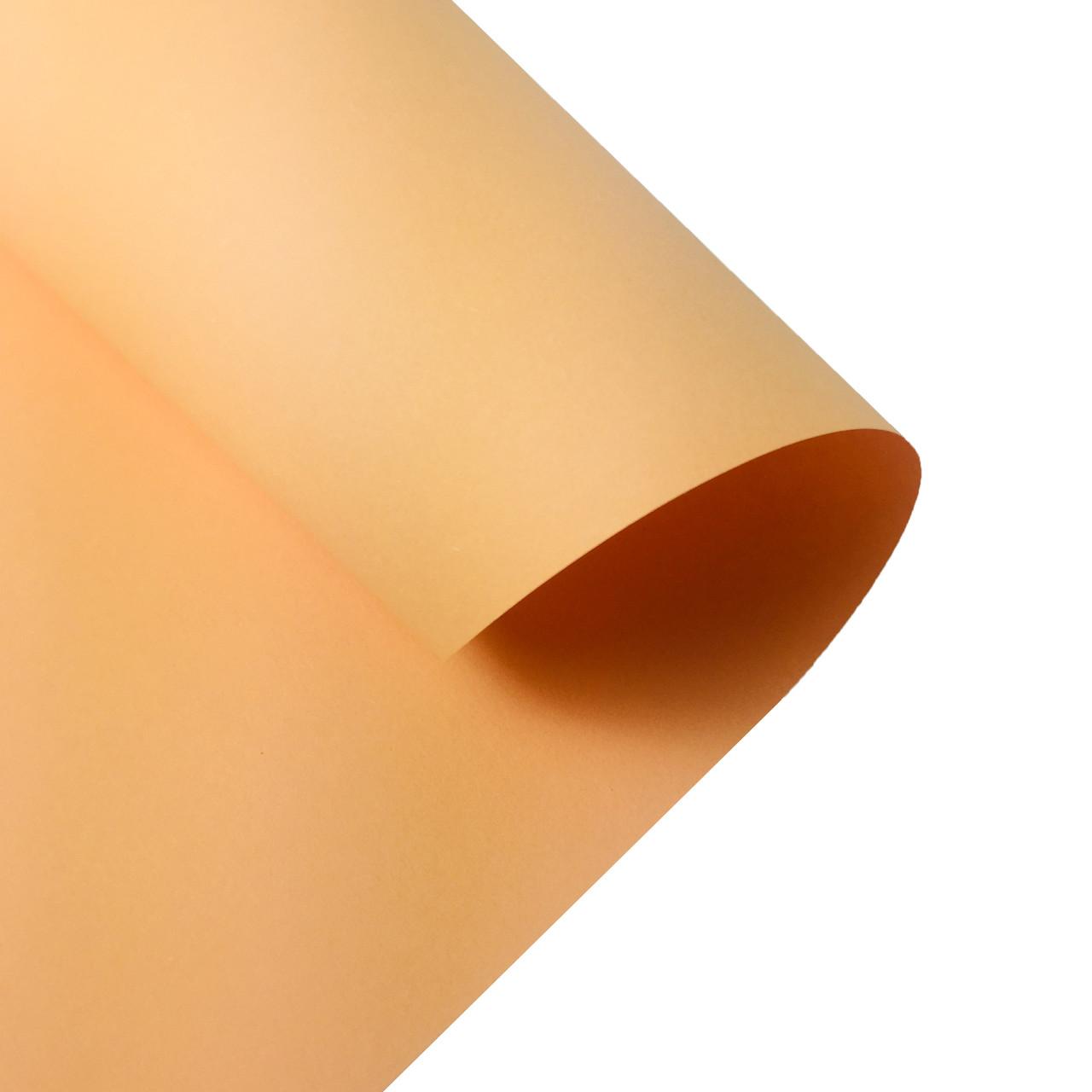 Бумага для дизайна Folia 50 х 70 см, персиковая