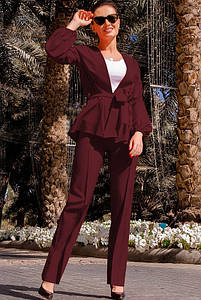 Элегантный брючный костюм Аморет 48-60рр