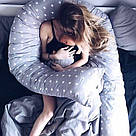 Подушка для беременных и кормящих мам, подкова, П-образная, детей, ортопедическая, кормления, Тайна, Mystery, фото 10