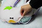 Подушка для беременных и кормящих мам, подкова, П-образная, детей, ортопедическая, кормления, Green Tale, фото 6