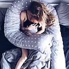 Подушка для беременных и кормящих мам, подкова, П-образная, детей, ортопедическая, кормления, Green Tale, фото 10