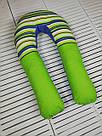 Подушка для беременных и кормящих мам, подкова, П-образная, детей, ортопедическая, кормления, Green Tale, фото 2