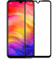 3D стекло для Xiaomi Redmi Note 7 Черное - Full Cover