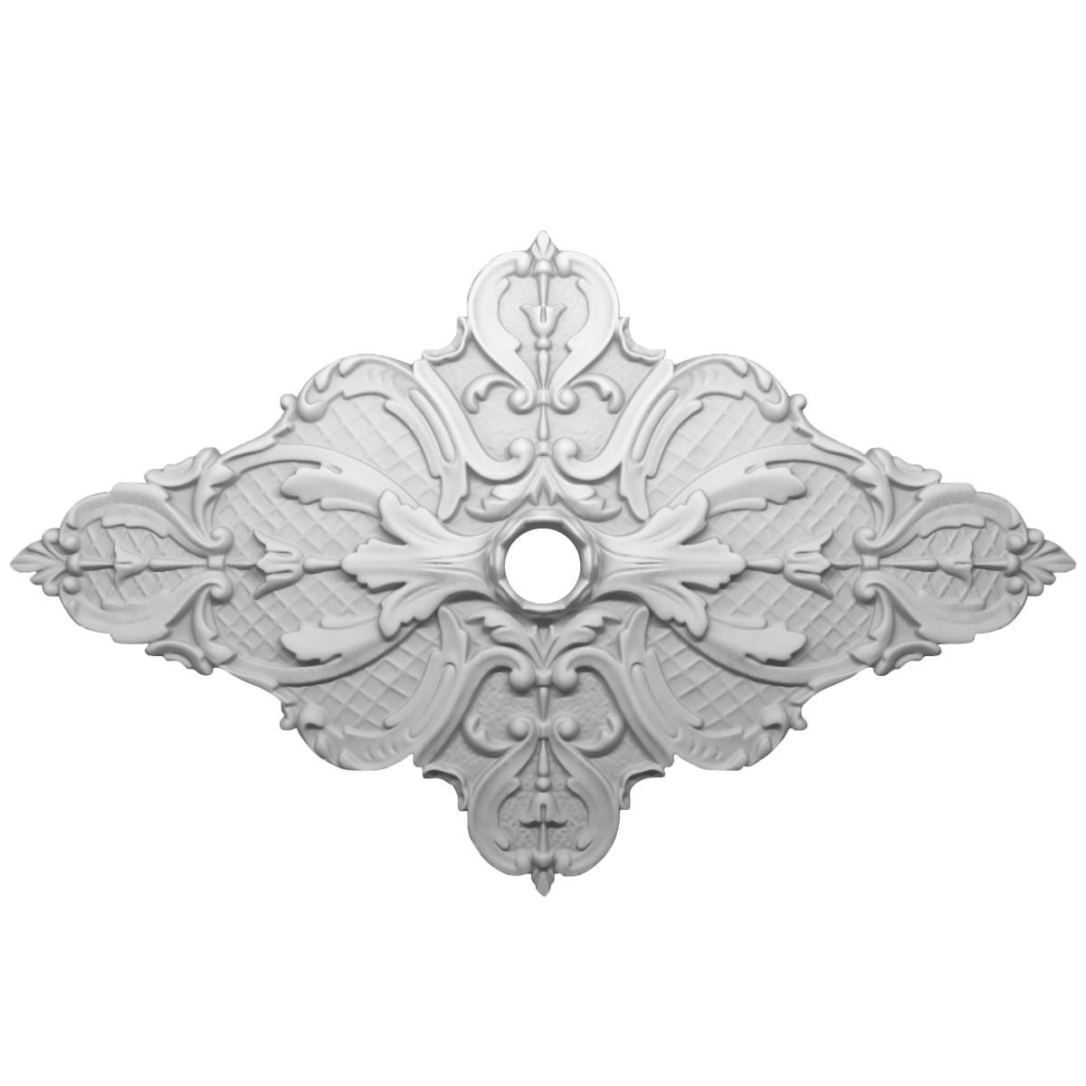 Розетка потолочная из гипса р-9 800х500