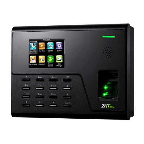 Прибор учета рабочего времени сотрудников и контроля доступа ZKTeco U760A-ID/WF