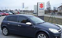 Хромированныемолдинги на стекла для Opel Astra H, Опель Астра Н
