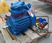 Электродвигатель взрывозащищенный АИМР160S8 7,5 кВт 750 об/мин