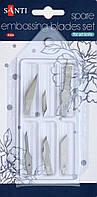 Набір лез фігурних 6шт Santi, 952431